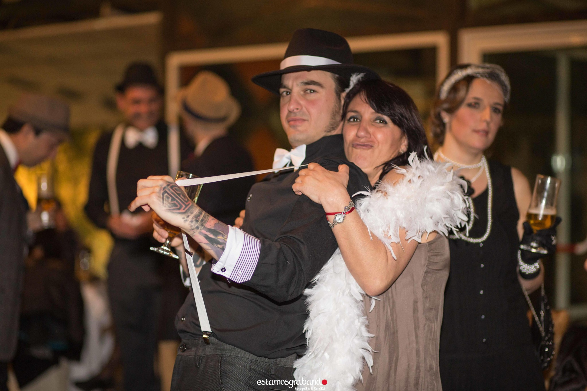 Fali-Bea-31-de-78 Fiesta Años 20 [La Teta de Julieta, Cádiz] - video boda cadiz